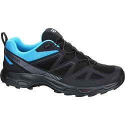 Lage wandelschoenen Salomon Holcan heren zwart/blauw