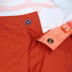 Afritsbroek voor wandelen meisjes Hike 900 oranje
