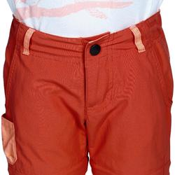 Pantalon de randonnée modulable enfant Hike 900 orange