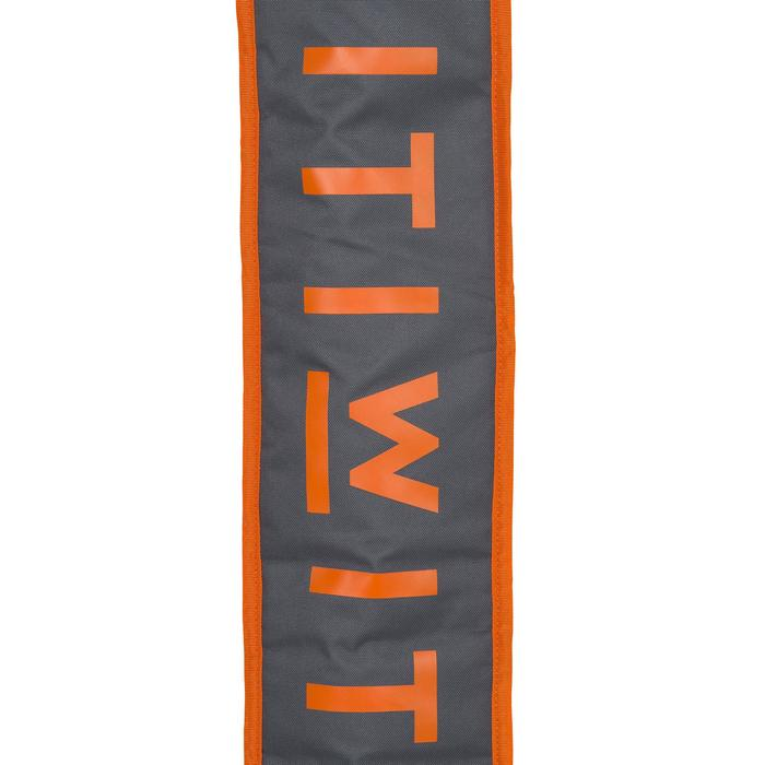 HOUSSE PAGAIE STAND UP PADDLE GRISE ORANGE - 1156688