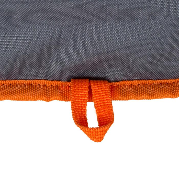 HOUSSE PAGAIE STAND UP PADDLE GRISE ORANGE - 1156689