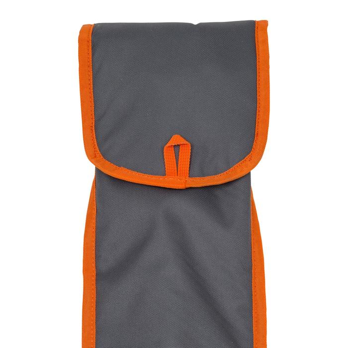 HOUSSE PAGAIE STAND UP PADDLE GRISE ORANGE - 1156691