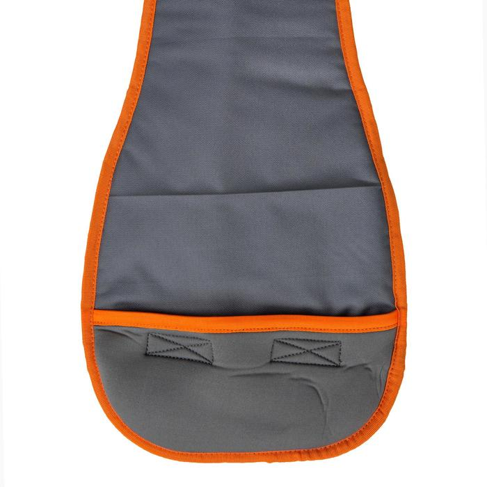 HOUSSE PAGAIE STAND UP PADDLE GRISE ORANGE - 1156692
