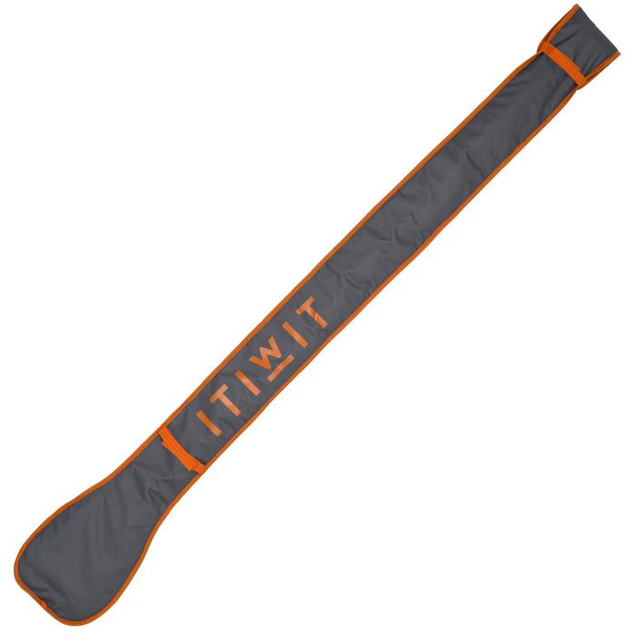 HOUSSE PAGAIE STAND UP PADDLE GRISE ORANGE - 1156693