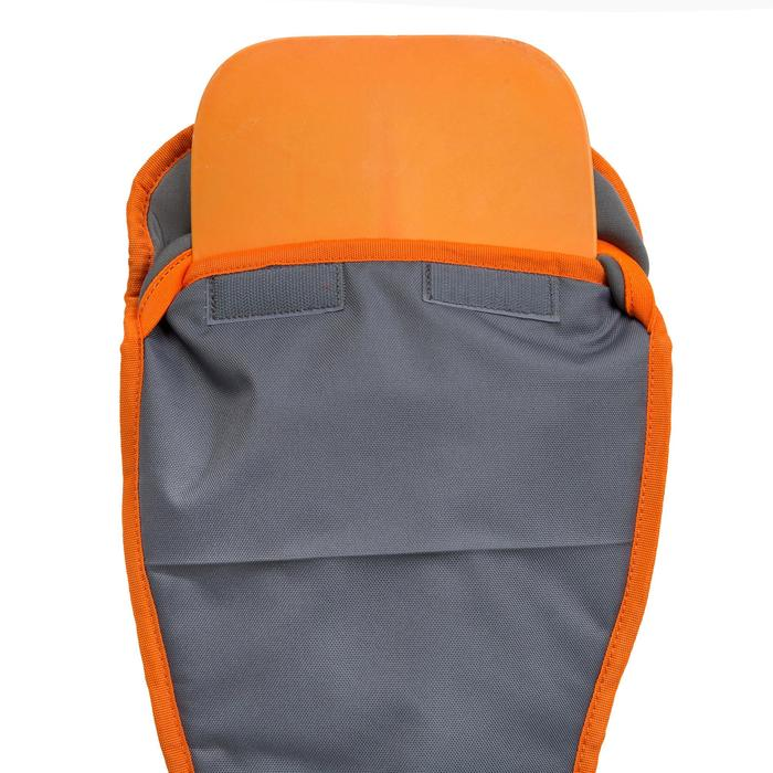 HOUSSE PAGAIE STAND UP PADDLE GRISE ORANGE - 1156694