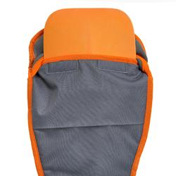 HOUSSE PAGAIE STAND UP PADDLE REGLABLE GRISE ORANGE