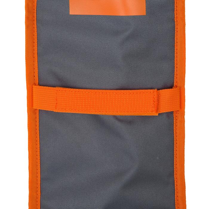 HOUSSE PAGAIE STAND UP PADDLE GRISE ORANGE - 1156695