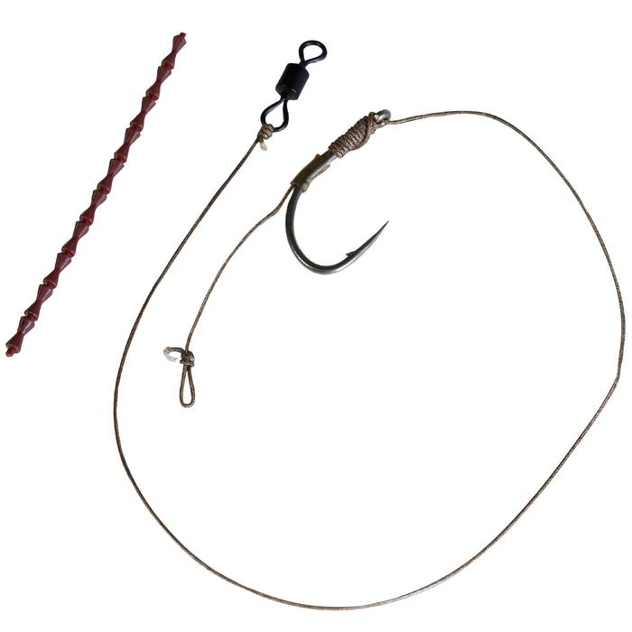 Set onderlijnen karpervissen SN Hook Carp