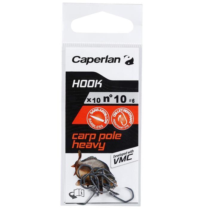 HAMEÇON SIMPLE PÊCHE HOOK CARP POLE HEAVY - 1156741