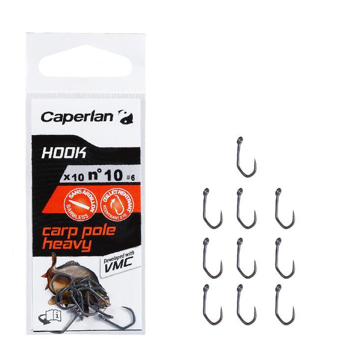 Enkele vishaak Hook Carp Pole Heavy - 1156759