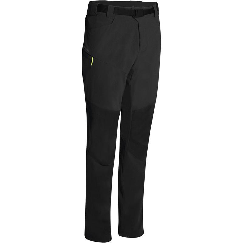 Pantalon de randonnée en montagne MH500 homme Noir