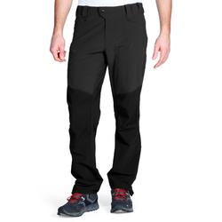 MH500 Men's Mountain Hiking Trousers - Black
