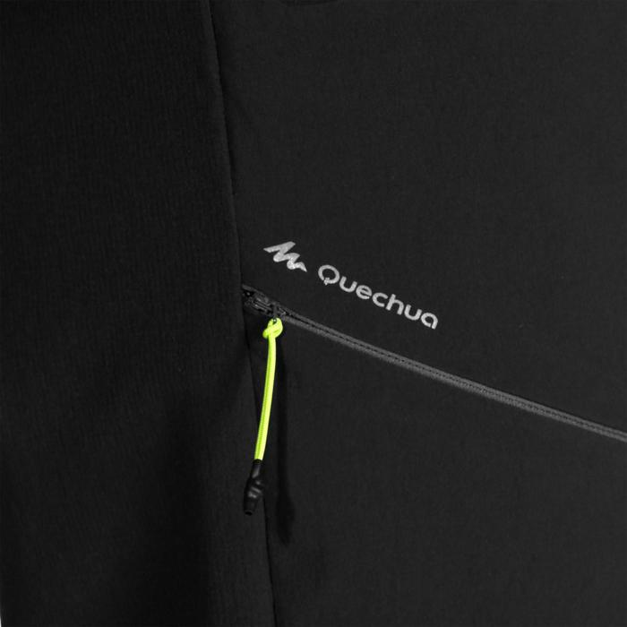 Herenbroek voor bergtrekking MH500 zwart