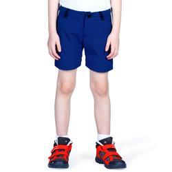 Afritsbroek voor wandelen jongens Hike 900 blauw