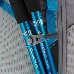 MH500 40L Women's Mountain Walking Backpack - Grey/Blue