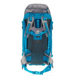 Mochila de Montaña y Trekking Quechua MH500 40 Litros Mujer Gris Azul