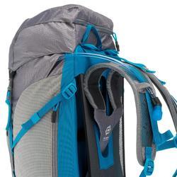 Wanderrucksack Bergwandern MH500 40 Liter Damen grau/blau