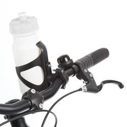 Adapter voor drinkbushouder op stuur, stuurpen of zadelpen.