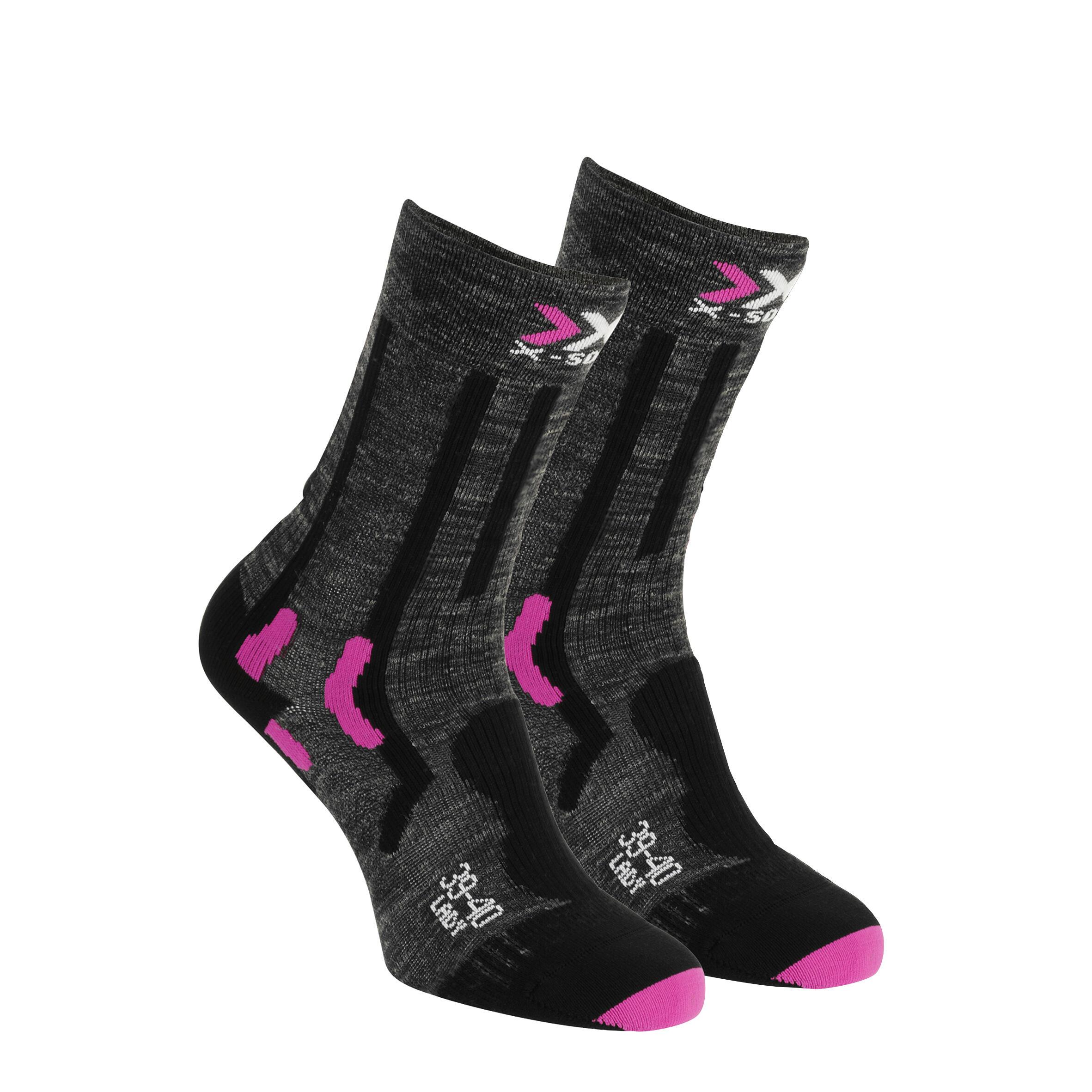 Wandersocken Trek Summer X-Socks Damen rosa | Sportbekleidung > Funktionswäsche > Wandersocken | Sidas