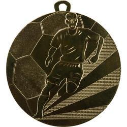 Medaille voetbal 70 mm goud