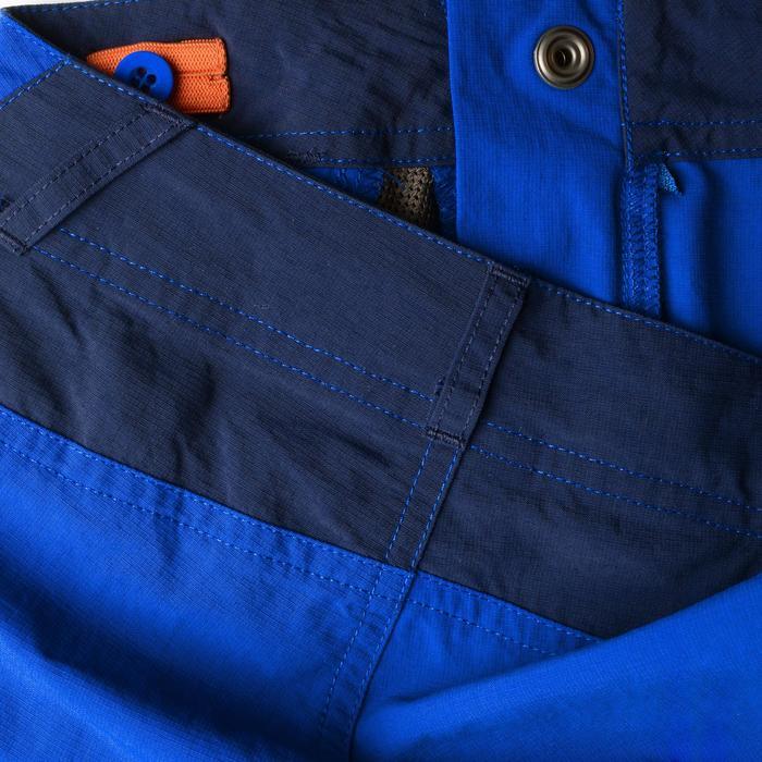 Pantalon de randonnée modulable enfant Hike 900 bleu