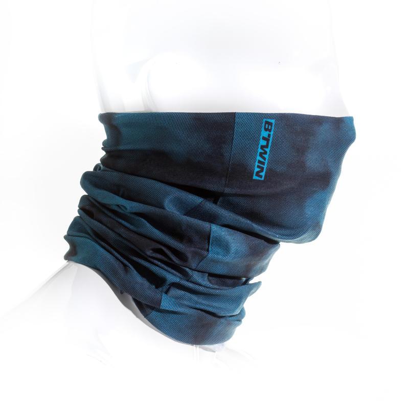 tour de cou velo roadr 100 noir bleu decathlon martinique. Black Bedroom Furniture Sets. Home Design Ideas