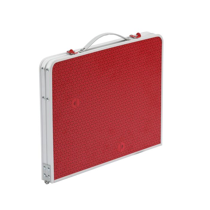 LOW FOLDING CAMPING TABLE - MH100 - RED