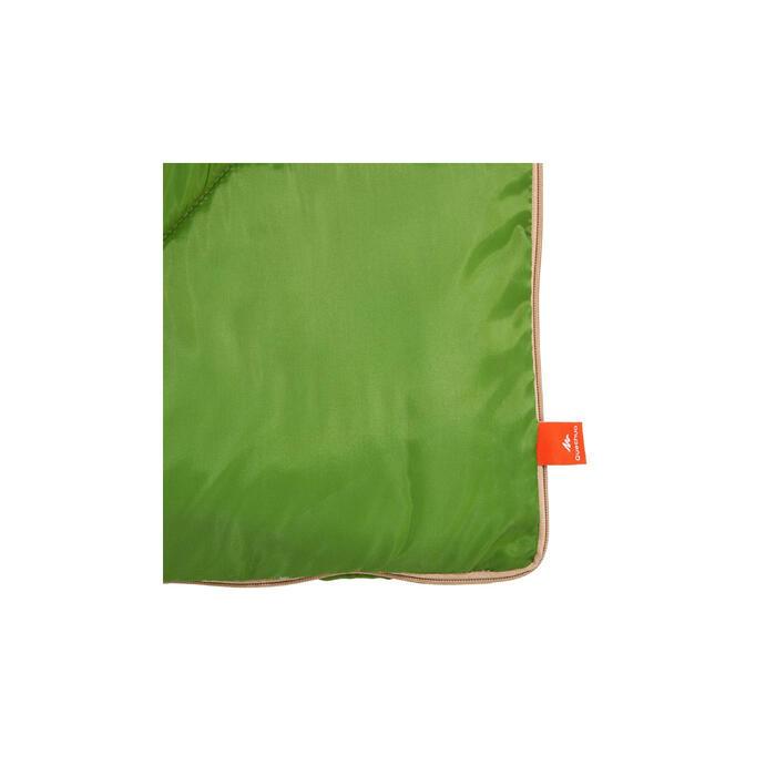 Campingschlafsack Arpenaz 20° grün