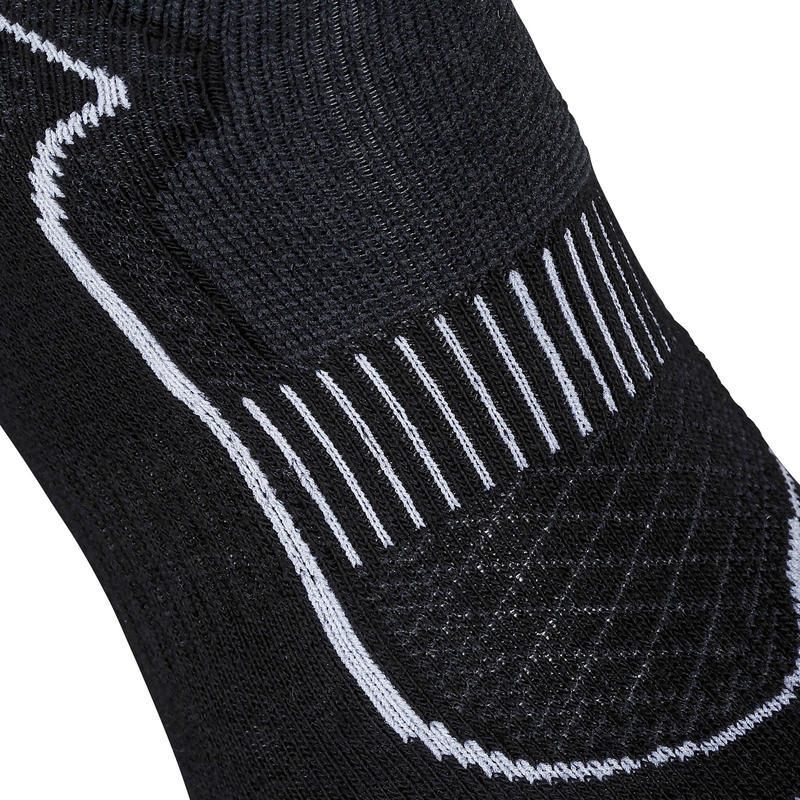 Mid 900 nordic and fitness walking socks black