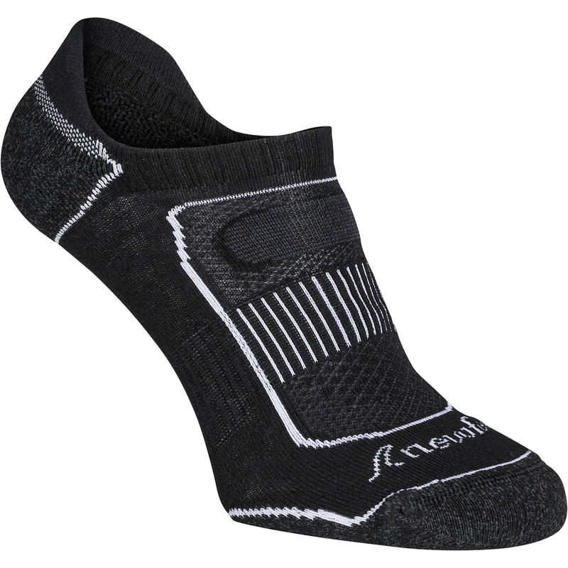 Invisible 900 Women's Fitness Walking Socks - Black