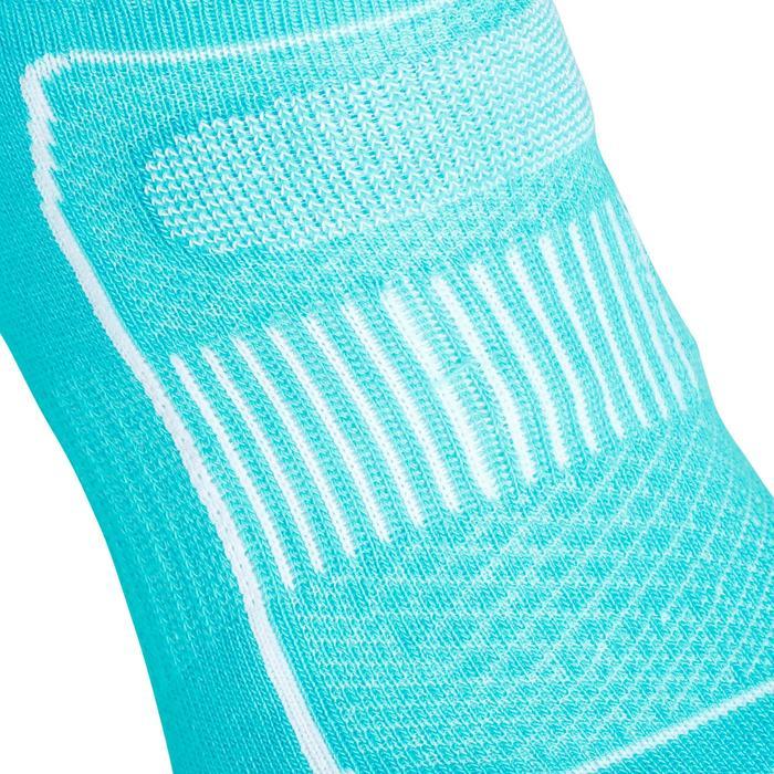 Calcetines de marcha deportiva Invisible 900 turquesa