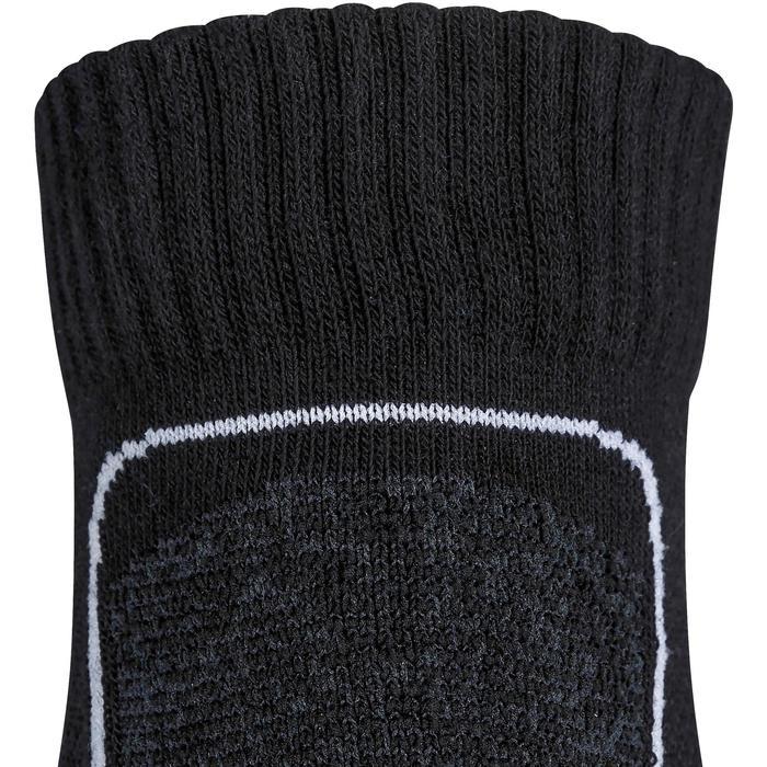 Chaussettes marche sportive et nordique Mid 900 noir