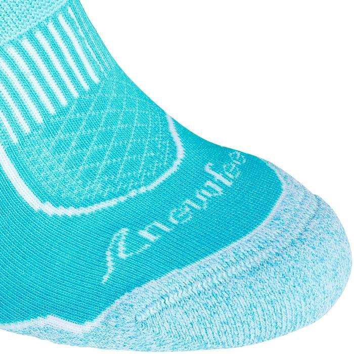 Sokken Mid 900 voor sportief wandelen en nordic walking turquoise