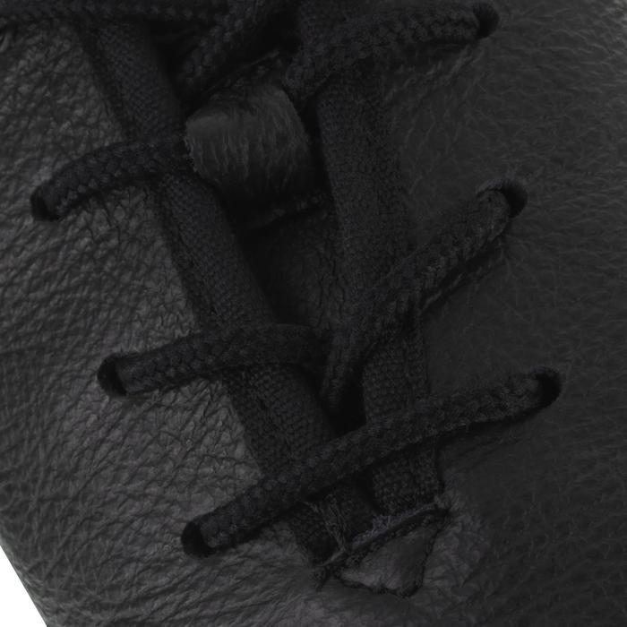 Chaussons de danse moderne en cuir souple noir - 1157397