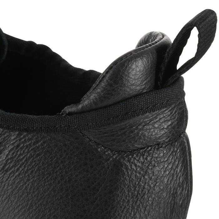 Chaussons de danse moderne en cuir souple noir - 1157407