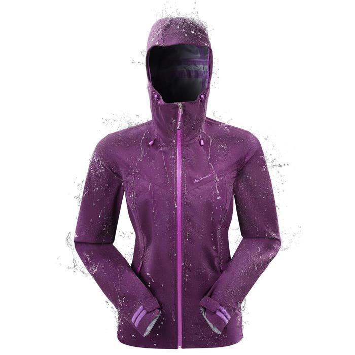 Veste de pluie imperméable de randonnée montagne MH500 Femme - 1157440