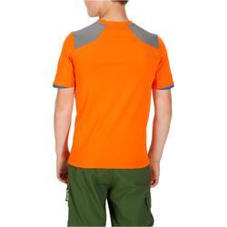 T-Shirt de randonnée enfant Hike 900 orange