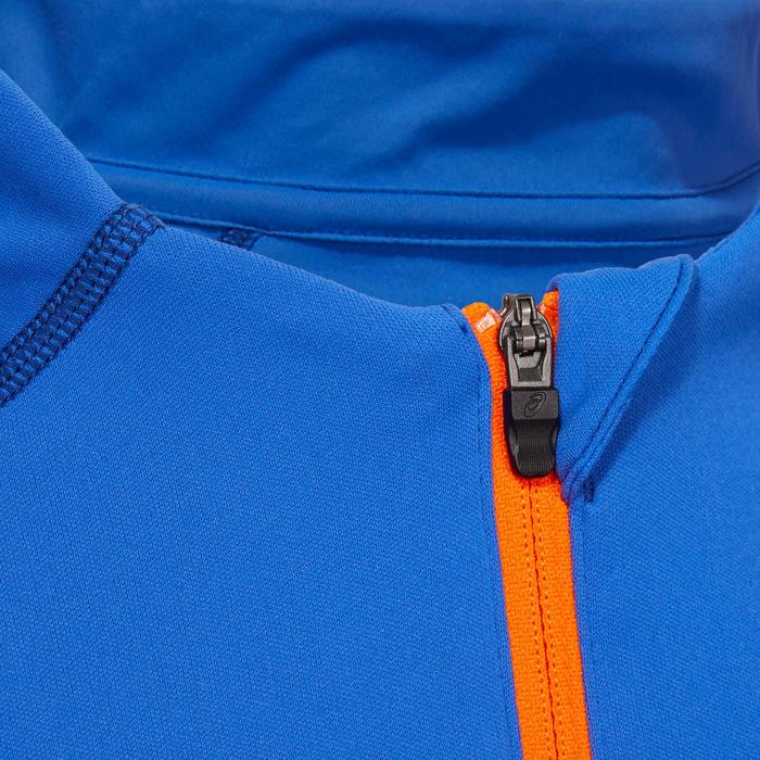 Shirt met lange mouwen Asics Stripe 1/2 rits heren blauw