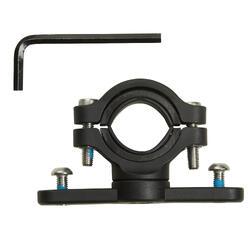 自行車水壺架與手把或龍頭或座桿的連接器