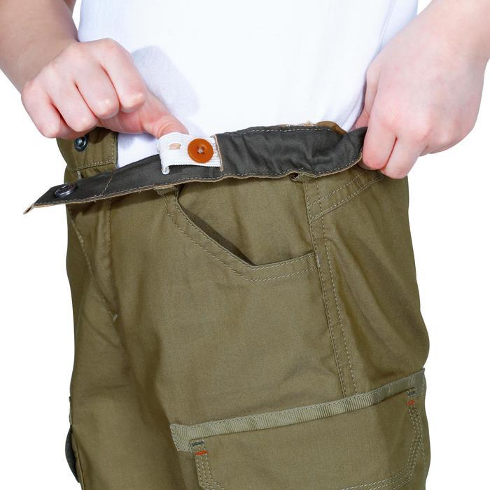 Pantalon de randonnée enfant Hike 500 marron clair - 1158025