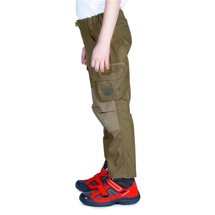 Pantalon de randonnée enfant Hike 500 marron clair - 1158027