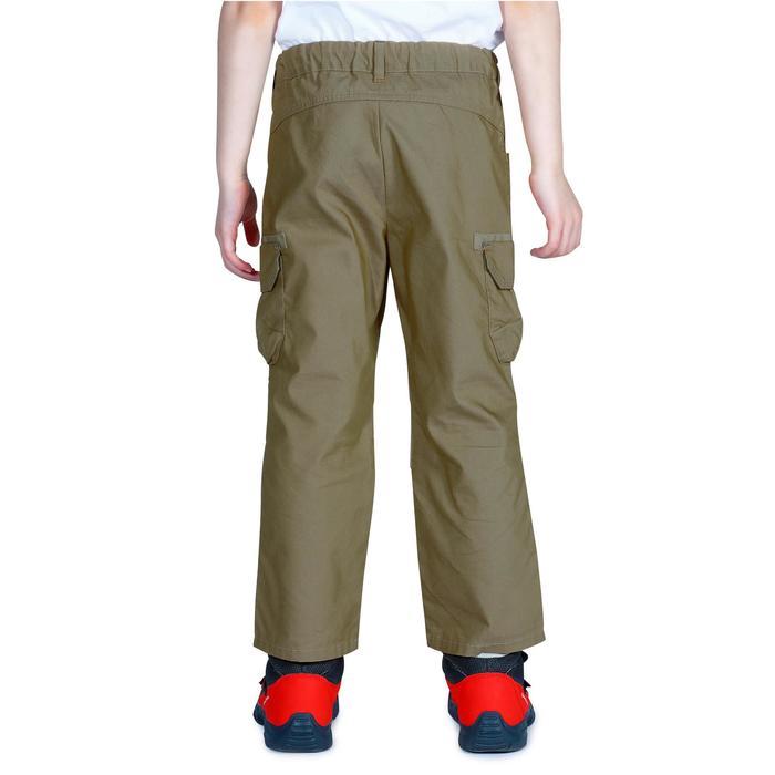 Pantalon de randonnée enfant Hike 500 marron clair - 1158030
