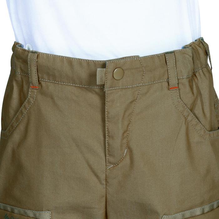 Pantalon de randonnée enfant Hike 500 marron clair - 1158031