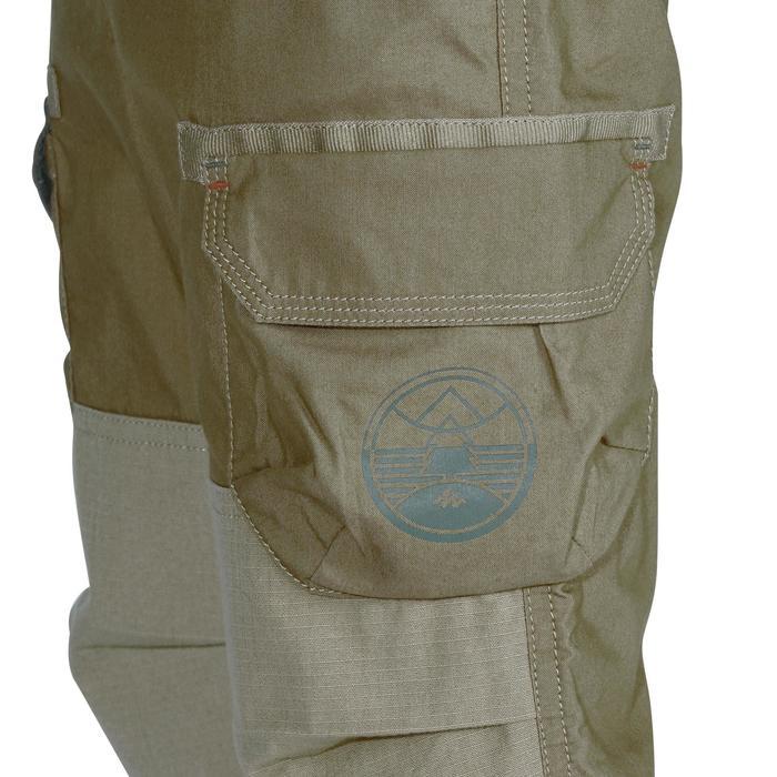 Pantalon de randonnée enfant Hike 500 marron clair - 1158033