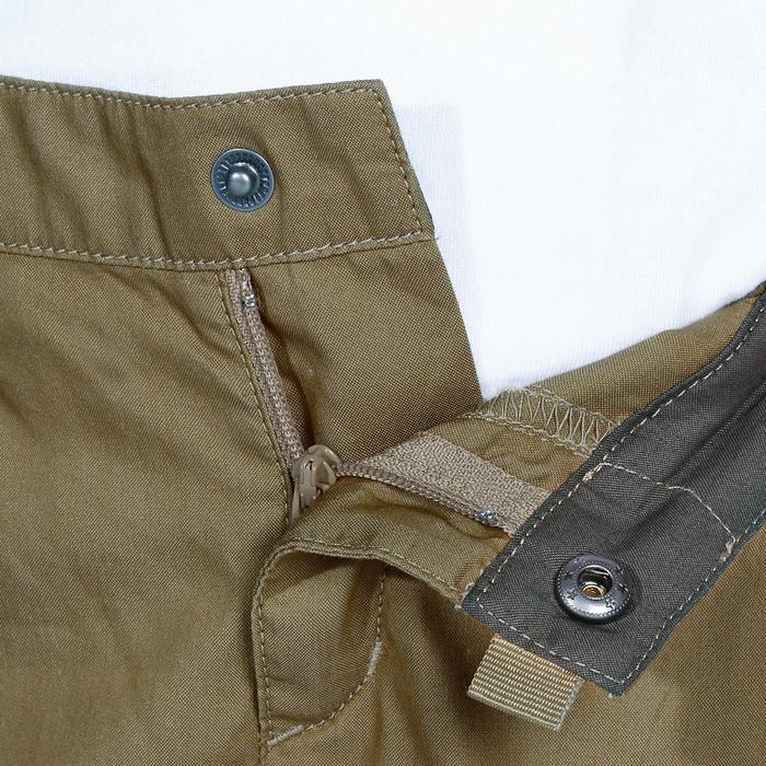 Pantalon de randonnée enfant Hike 500 marron clair - 1158034