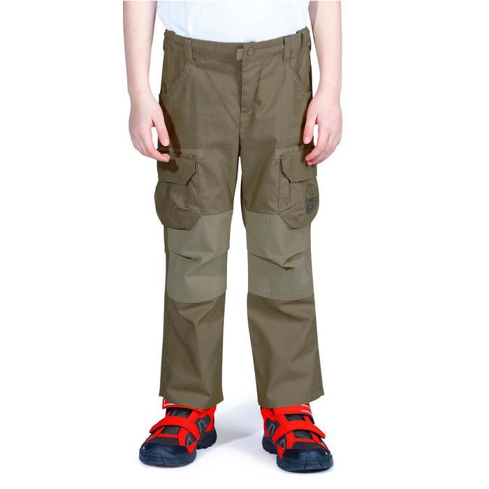 Pantalon de randonnée enfant Hike 500 marron clair - 1158042