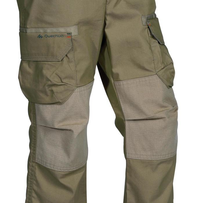 Pantalon de randonnée enfant Hike 500 marron clair - 1158053