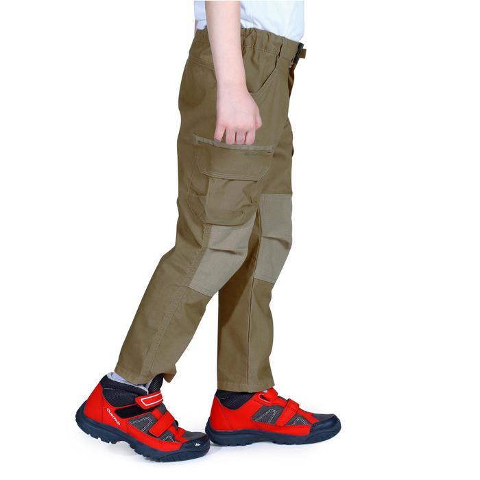 Pantalon de randonnée enfant Hike 500 marron clair - 1158054