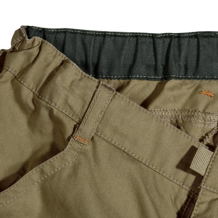 Pantalon de randonnée enfant Hike 500 marron clair - 1158058