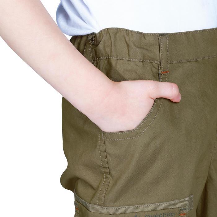 Pantalon de randonnée enfant Hike 500 marron clair - 1158060